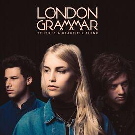 2x London Grammar standing tickets, O2 Brixton Academy London, Monday 30th October 2017