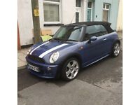 Mini Cooper Convertable 2004 (54) 1.6 ***Roof Cable Snapped, Hence Price****