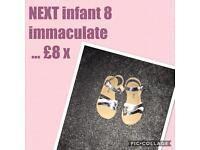 NEXT infant 8 sandals ❤️