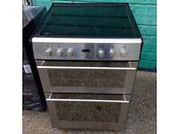 £123.99 Stoves sls/Black ceramic electric cooker+60cm+3 months warranty for £123.99