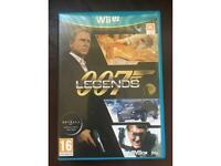 Nintendo Wii U 007 Legends rare game