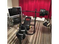 Weight bench 71kg