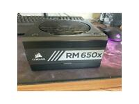 Corsair RM650X 80 Plus gold PSU