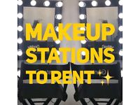 Make up , lash and brow chairs , nail desks to rent