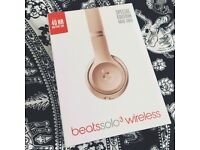 Beats by Dr. Dre Solo3 Wireless Headphones - Rose Gold (Special Edition)