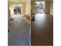 Laminate floor fitter or supply and fit