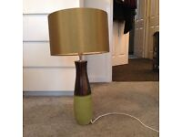 Next green table lamp