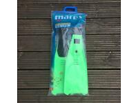 Mares diving snorkelling fins / flippers size 5.5-6.5