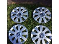 "Wheel Trims 15"" for VW Golf Polo Caddy Touran"