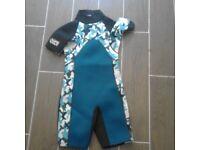 kids half wetsuit