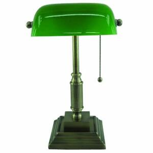 NEW Normande Lighting AM3-624A Compact Fluorescent Banker's Lamp