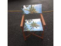 Camping/caravan fold away chairs