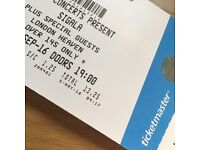 4x SIGALA TICKETS - HEAVEN LONDON - 21ST SEPT - FACE VALUE!