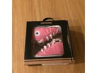 Pink baby's converse