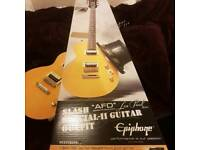 Epiphone Les Paul Special II Slash Outfit Basically New