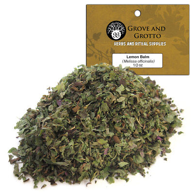 Lemon Balm 1/2 oz Package Ritual Herb ORGANIC C/S by Grove and Grotto