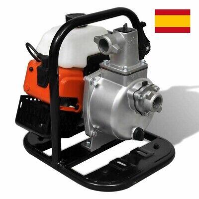 Motobomba de Agua Gasolina 2 Tiempos 0.95L Herramienta Bomba Eléctrica taller