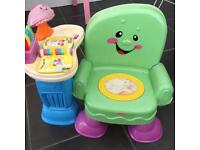 Fisher price learn smartmusic chair