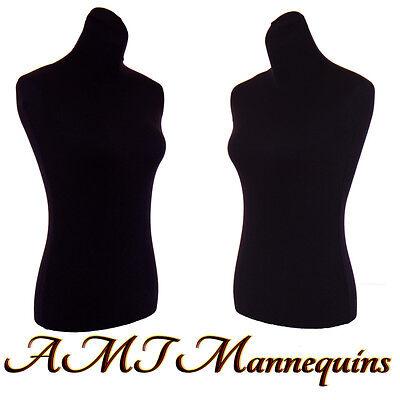 2 nylon covers, to renew male female mannequin toros, size M, 2 Black Jerseys