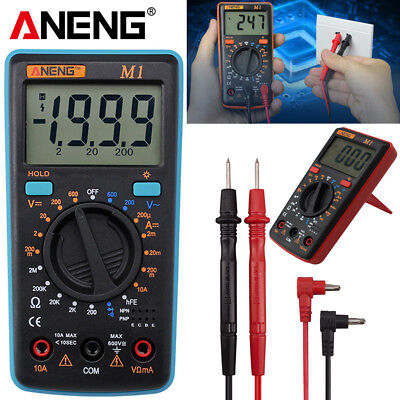 Handheld Lcd Digital Multimeter 3 12 Voltmeter Ohmmeter Multitester Test Meter