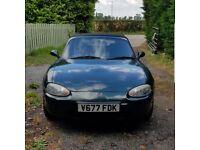 1999 Mazda MX5 British Racing Green