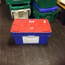 Large Sturdy Plastic Storage Crate