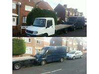 BOTH FOR SWAPS OR OFFERS (transit van & ldv recovery flat bed)