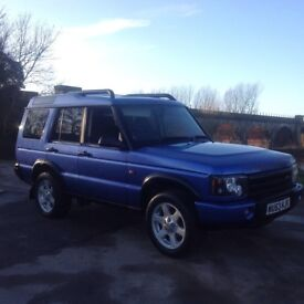 Land Rover discovery Es model top spec 53 plate