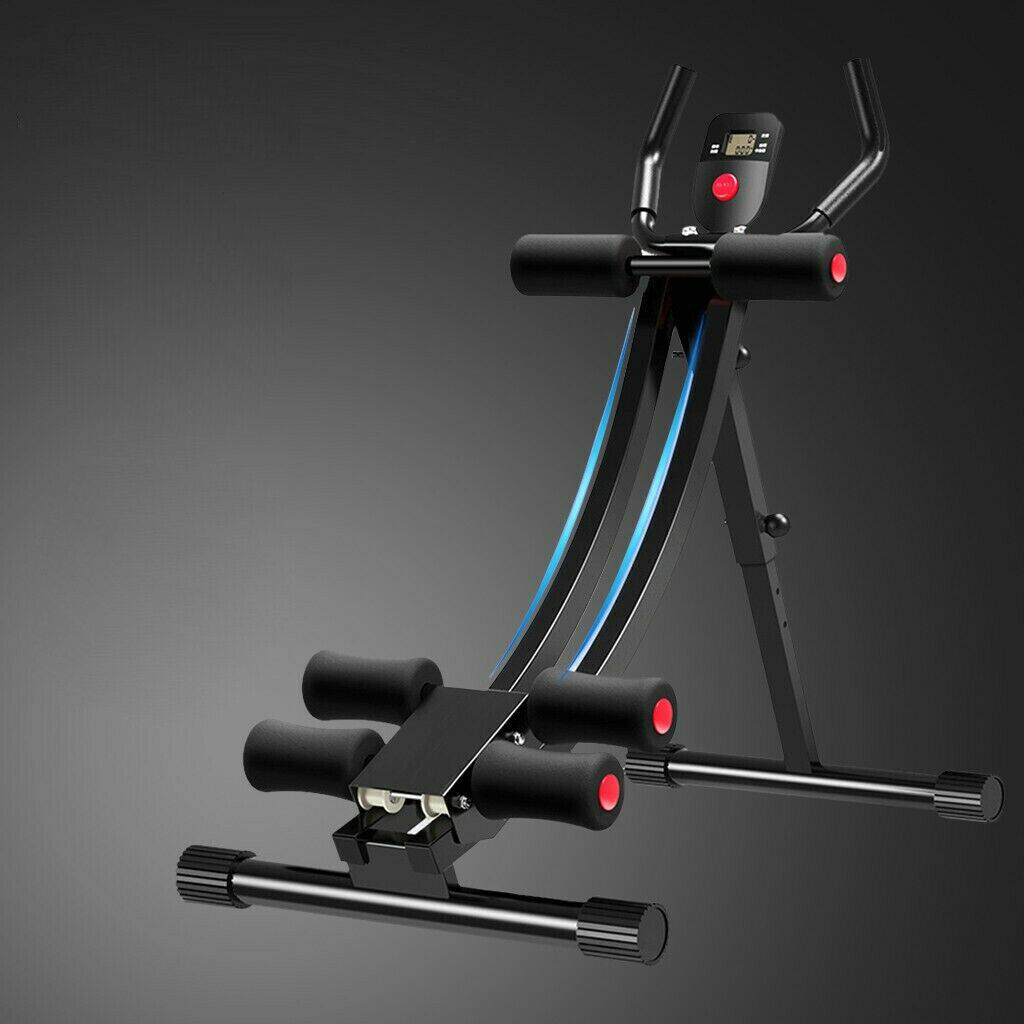 Ab Abdominal Exercise Machine Cruncher Trainer Fitness Body Shaper Gym Equipment 4