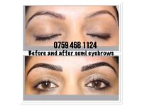 APRIL SPECIAL: RUSSIAN 3d £50, INDIVIDUAL EYELASHES £40, MICROBLADING £70, SEMI PERMANENT MAKEUP £80