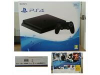 Brand new in box, PS4 500gb