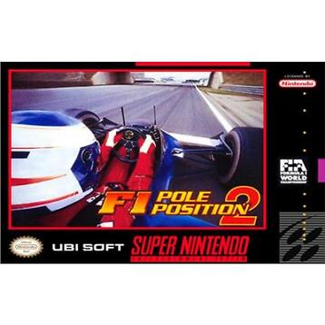 F1 Pole Position 2 (SNES) Morgen in huis! - iDeal!