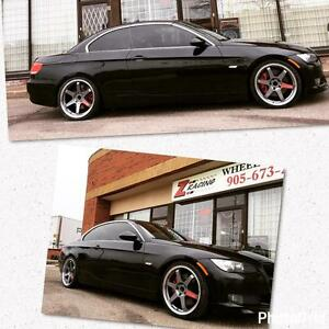 19 Inch Te37 Replica Wheels on Sale For BMW Rim Only $650 + tax Rim Tire Package $1250 + Tax@Zracing 9056732828 Rim sale