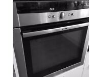 NEFF BUILT IN SINGLE OVEN B15P52.3GB, CIRCO THERM, PYROLYTIC CLEANING SYSTEM, STAINLESS STEEL,