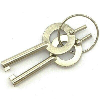 2 Pack Universal Standard Handcuff Keys Police Sheriff Law Enforcement Military