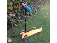 Mini Micro scooter with seat