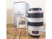 Canon EF 70-300mm F/4-5.6 IS L SERIES USM Lens WILDLIFE SPORT LANDSCAPE ACTION