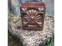 Pressed Copper Planter