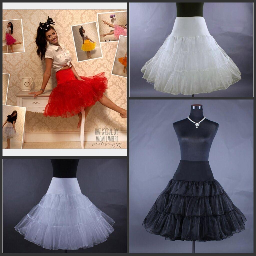 neu petticoat unterrock rockabilly 50er 60er jahre dirndl. Black Bedroom Furniture Sets. Home Design Ideas