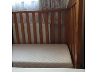 Cot for sale with water proof mattress