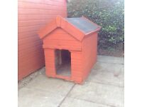 Wooden Dog Kennel good for any size of dog. Buyer to uplift from Coylton.