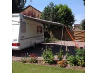 WigoZelte Rolli Awning. Suitable for caravan or Motorhome.