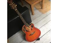 Rare Tanglewood Autumn Leaf Electric Acoustic guitar