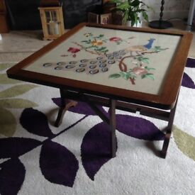 Vintage Logan Firescreen/Table