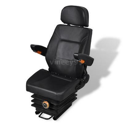 Tractor Seat Suspension Slide Track Compact Mower Seating Backrest New J9x7