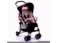 LIGHTWEIGHT BABY STROLLER BUGGY FROM BIRTH BRAN NEW SEALED IN BOX, FREE RAINCOVER
