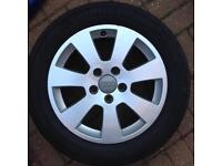 """AUDI A3 Alloys new tyres!! 16"""" wheels set"""