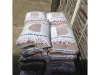 Bags x14 red 1-3 mm decorative stones