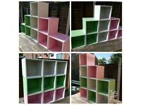 Coloured Individual Storage Cubes (SOLD)