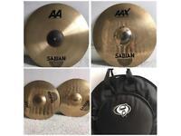 Sabian Cymbals & Protection Racket Case AAX/AA